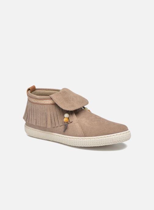 Sneakers Dames Botin Flecos Serraje F