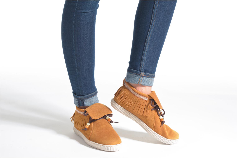 Sneakers Victoria Botin Flecos Serraje F Bruin onder