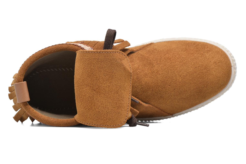 Sneakers Victoria Botin Flecos Serraje F Bruin links