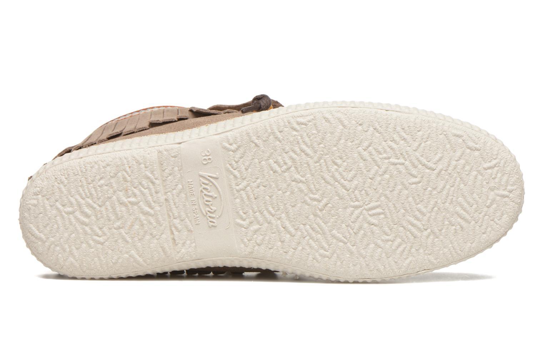 Sneakers Victoria Botin Flecos Serraje F Bruin boven