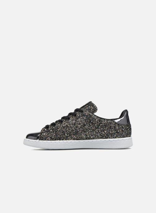 Sneakers Victoria Deportivo Plateform Glitter Zwart voorkant