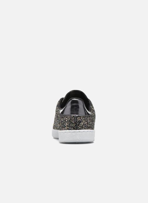 Sneakers Victoria Deportivo Plateform Glitter Zwart rechts