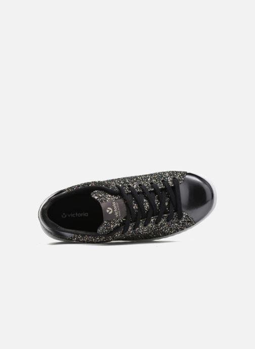 Sneakers Victoria Deportivo Plateform Glitter Zwart links