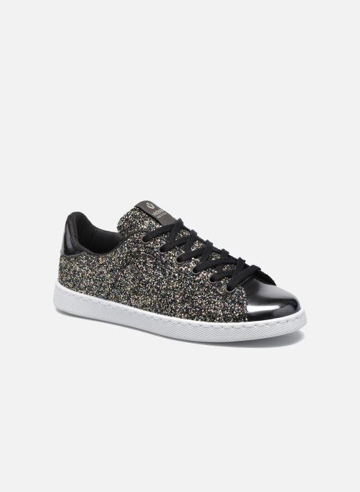 Sneakers Victoria Deportivo Plateform Glitter Zwart detail