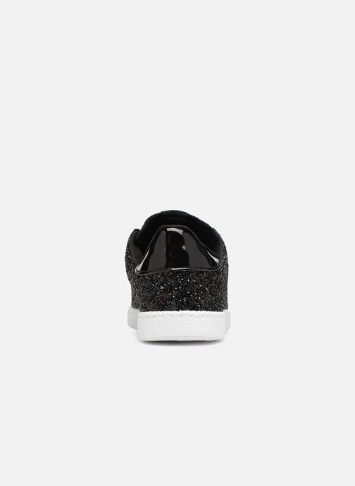 Baskets Victoria Deportivo Plateform Glitter Noir vue droite