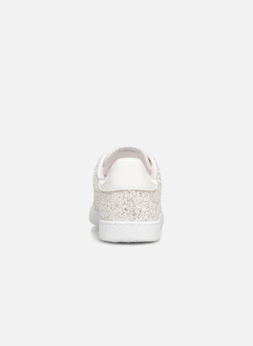 Sneaker Victoria Tenis Glitter W silber ansicht von rechts
