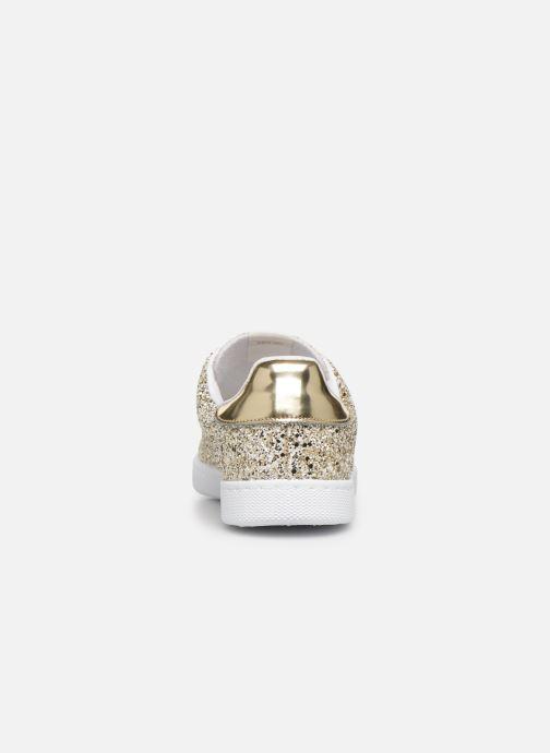 Sneakers Victoria Deportivo Plateform Glitter Goud en brons rechts