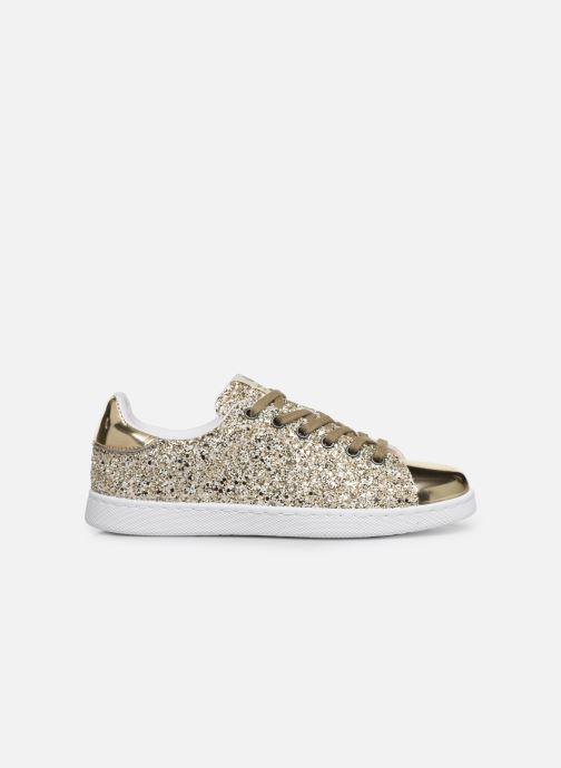 Sneakers Victoria Deportivo Plateform Glitter Goud en brons achterkant