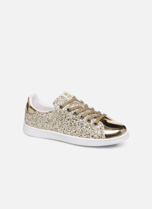 Sneakers Victoria Deportivo Plateform Glitter Goud en brons detail