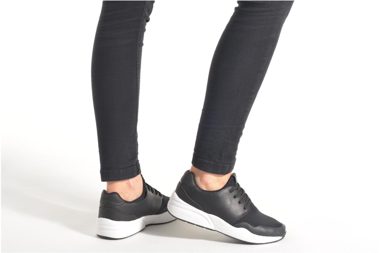 Deportivas Victoria Sneakers neopreno Negro vista de abajo