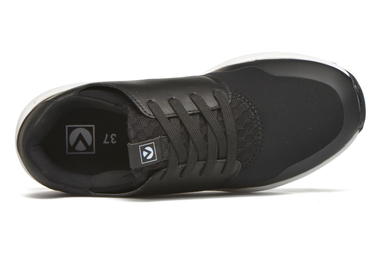 Deportivas Victoria Sneakers neopreno Negro vista lateral izquierda