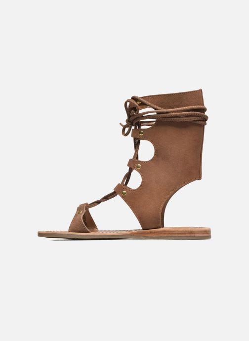 Sandali e scarpe aperte Les Tropéziennes par M Belarbi Baktal Marrone immagine frontale