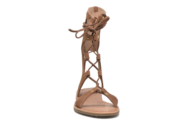 Sandals Les Tropéziennes par M Belarbi Baktal Brown model view
