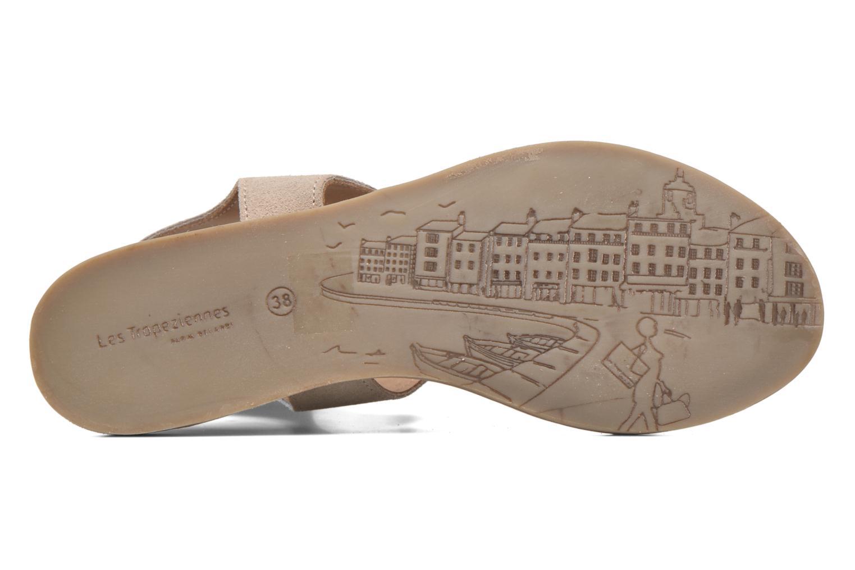 Sandals Les Tropéziennes par M Belarbi Baktal Beige view from above