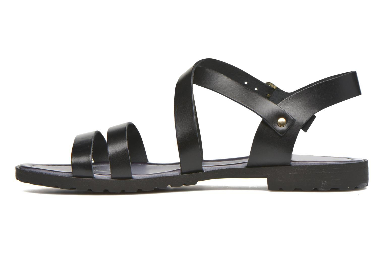 Sandalen Initiale Paris Henane Zwart voorkant