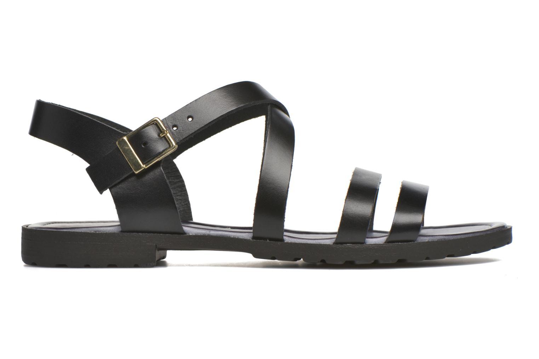 Sandalen Initiale Paris Henane Zwart achterkant