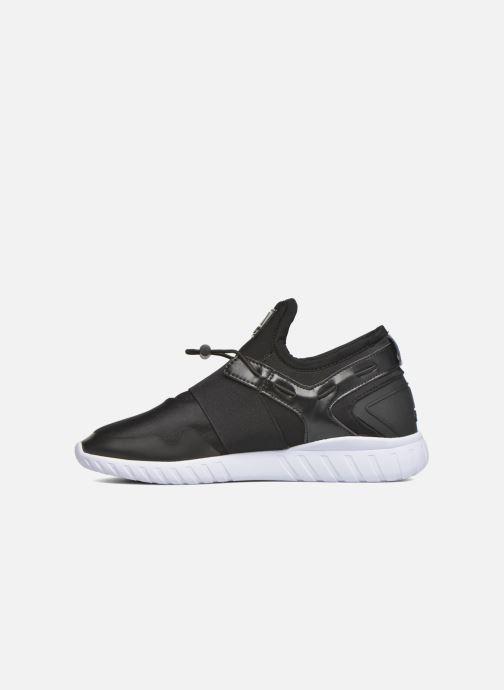 Sneaker Asfvlt Area Mid schwarz ansicht von vorne