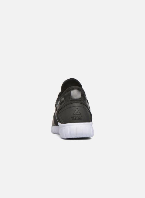 Sneaker Asfvlt Area Mid schwarz ansicht von rechts