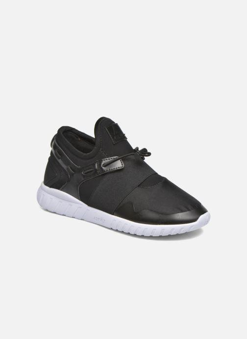 Sneakers Asfvlt Area Mid Zwart detail