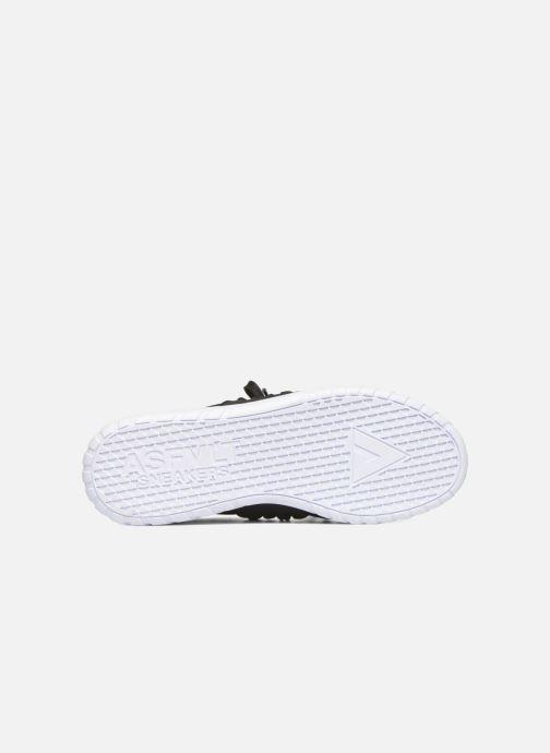 Baskets Asfvlt Area Low Noir vue haut