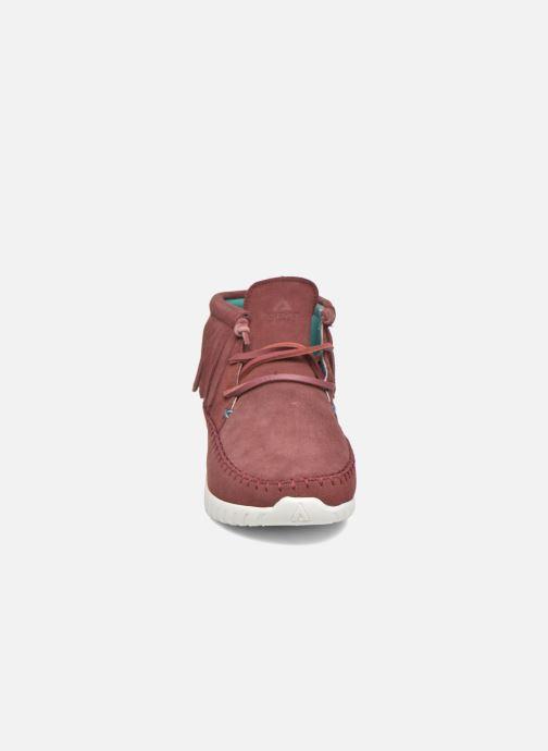 Sneakers Asfvlt Apache Rosso modello indossato