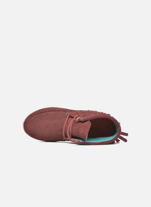 Sneakers Asfvlt Apache Rosso immagine sinistra