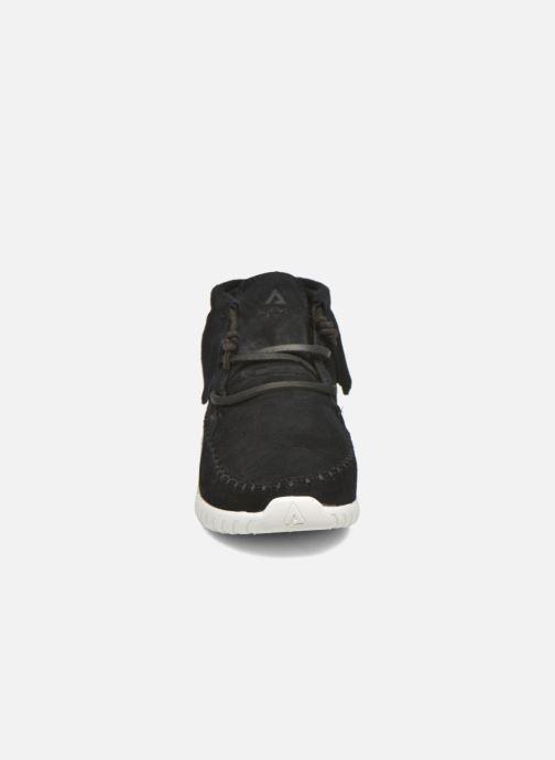 Baskets Asfvlt Apache Marron vue portées chaussures