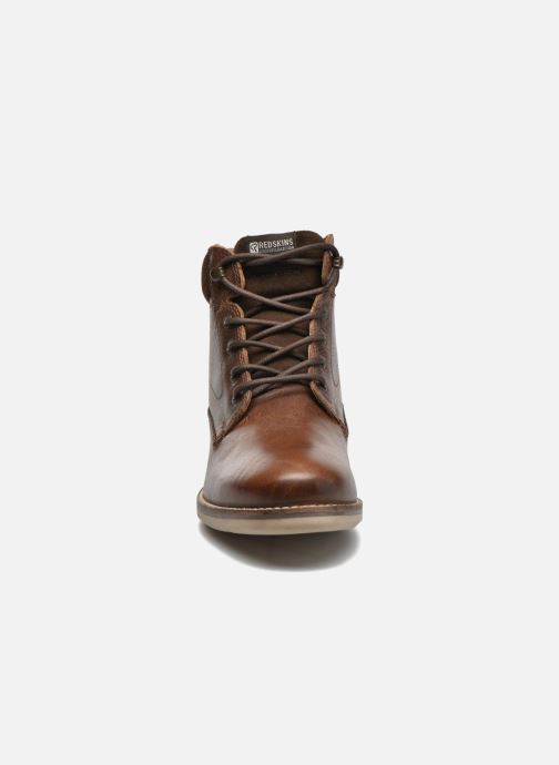 Ankle boots Redskins Batex Brown model view