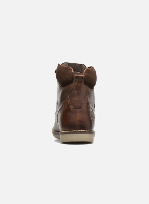 Ankle boots Redskins Batex Brown view from the right
