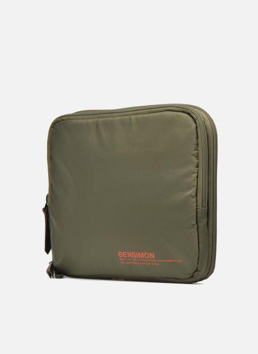 Laptop cases Bensimon Web Bag Green model view