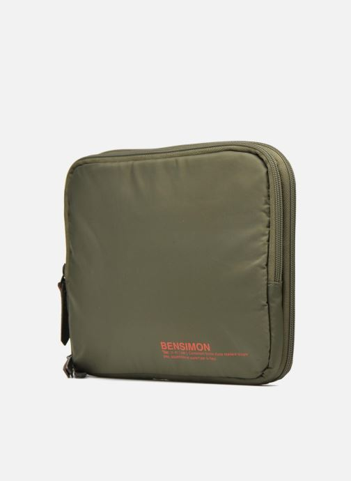 Laptop cases Bensimon Web Bag Green model view