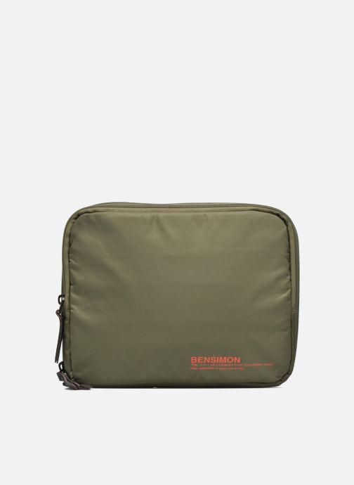 Laptop cases Bensimon Web Bag Green detailed view/ Pair view