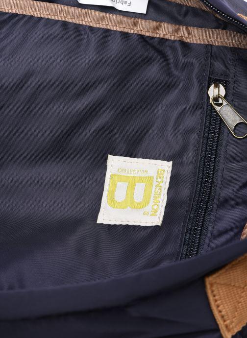 Mochilas Bensimon Backpack Azul vistra trasera