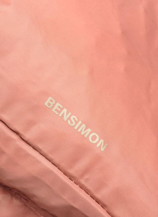 Mochilas Bensimon Backpack Rosa vista lateral izquierda