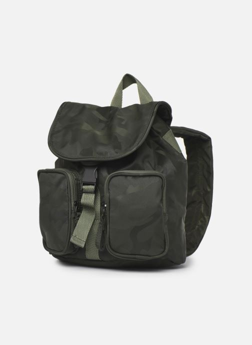 Mochilas Bensimon Backpack Verde vista del modelo