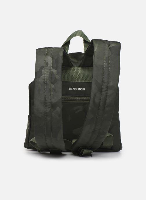 Mochilas Bensimon Backpack Verde vista de frente