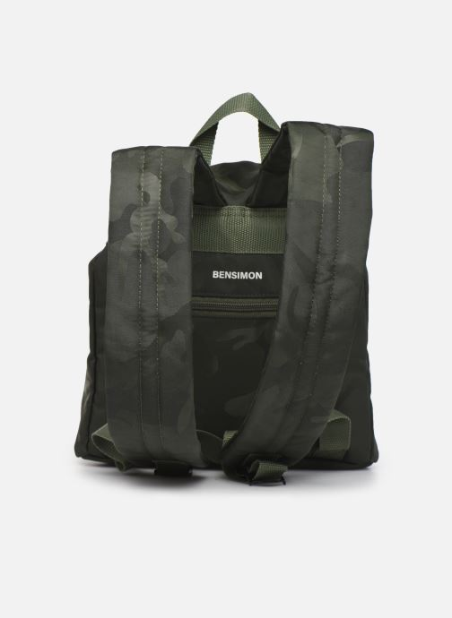Rucksäcke Bensimon Backpack grün ansicht von vorne