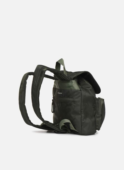 Mochilas Bensimon Backpack Verde vista lateral derecha