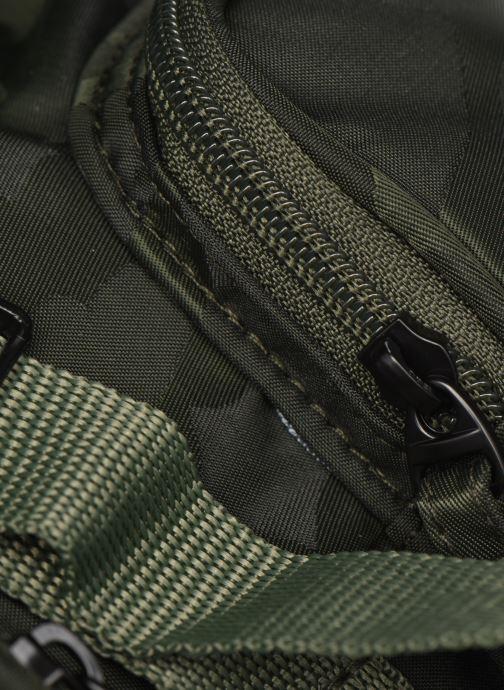 Rucksäcke Bensimon Backpack grün ansicht von links