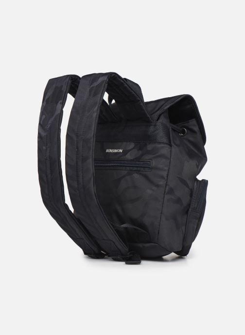 Rucksäcke Bensimon Backpack blau ansicht von rechts