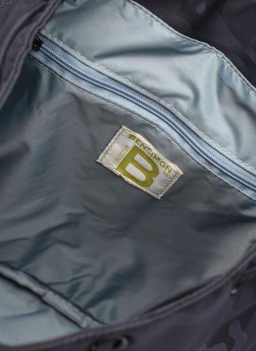 Zaini Bensimon Backpack Azzurro immagine posteriore