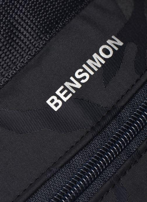 Rucksäcke Bensimon Backpack blau ansicht von links