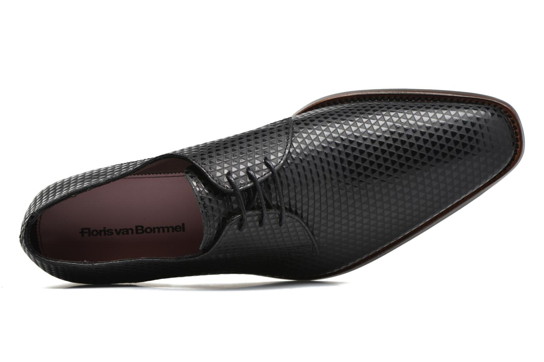 Chaussures à lacets Floris Van Bommel Eliott Noir vue gauche