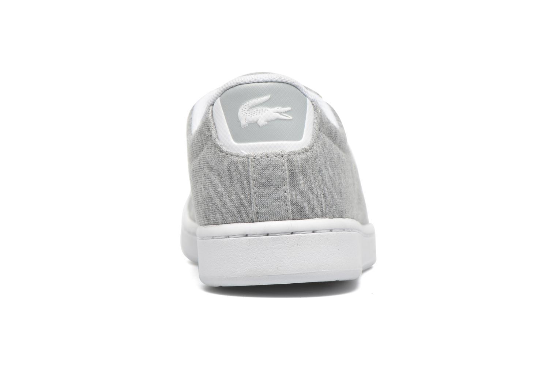 Sneakers Lacoste Carnaby EVO 116 2 Grijs rechts