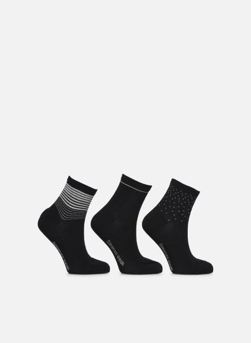 Chaussettes et collants Sarenza Wear Chaussettes lurex Pack de 3 Femm… Noir vue détail/paire