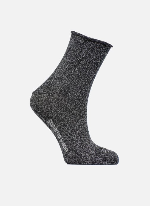 Socken & Strumpfhosen Accessoires Chaussettes lurex Femme Coton / Lurex
