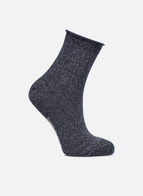 Socks & tights Sarenza Wear Chaussettes lurex Femme Coton / Lurex Blue detailed view/ Pair view