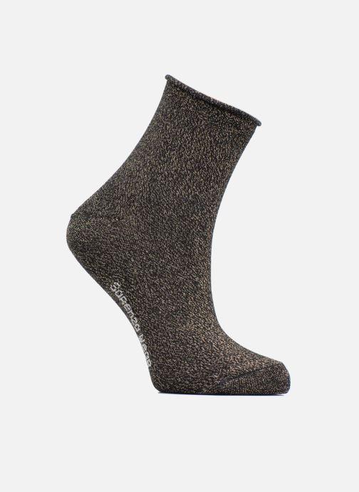 Chaussettes et collants Sarenza Wear Chaussettes lurex Femme Coton   Lurex  Noir vue détail paire c4dd321e5d5d
