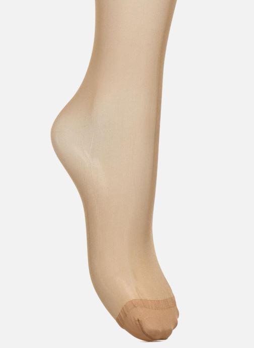 Strømper og tights Dim Collant Beauty Resist transparant Pack de 2 Farveløs se fra venstre