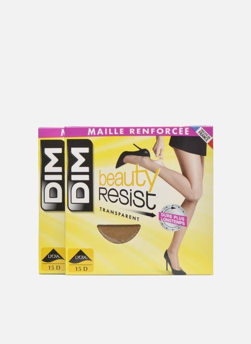 Sokken en panty's Dim Collant Beauty Resist transparant Pack de 2 Kleurloos detail
